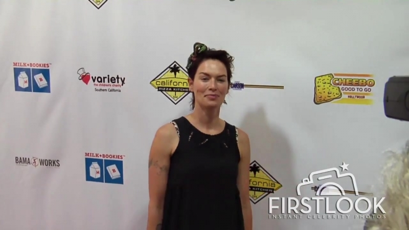 Lena Headey at Milk and Bookies 7th Annual Story Time event