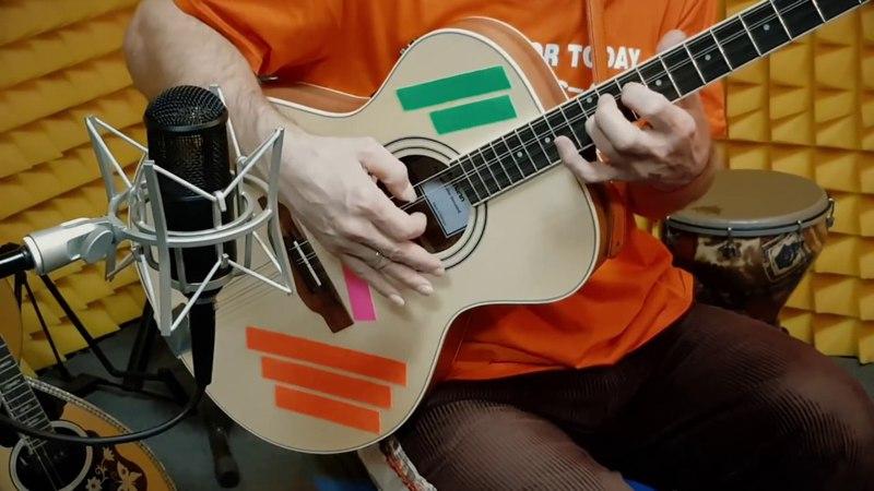 ДиДюЛя и его Уникальная восьмиструнная гитара-бузука Thomann.
