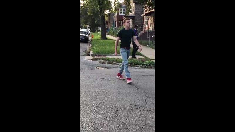 Камерон на съемочной площадке сериала «Бесстыдники» в Чикаго | 19 октября 2017