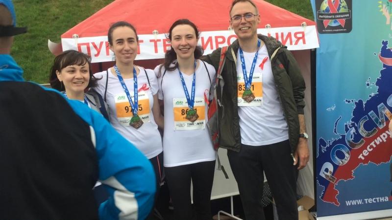 Историки на Казанском марафоне 2018