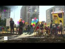 Андрей Чибис и Евгений Хромушин приняли самый большой двор в Подмосковье