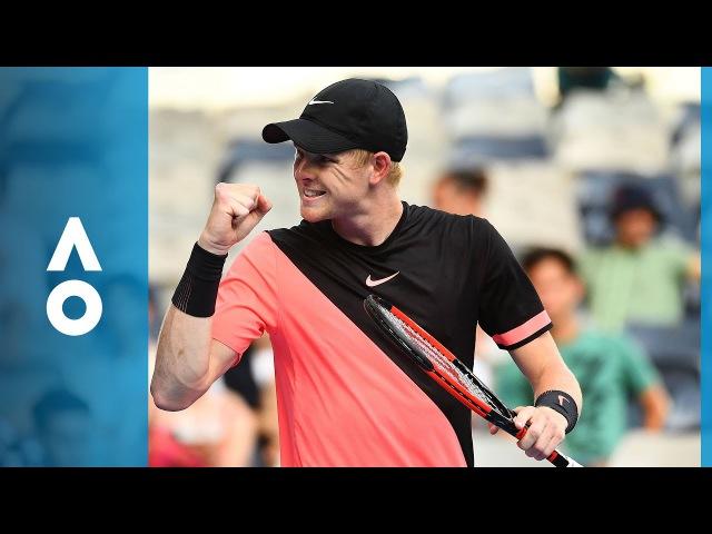 Kyle Edmund v Andreas Seppi match highlights 4R Australian Open 2018