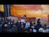 Владимир Путин: «Мыобеспечим свою безопасность, невтягиваясь вгонку вооружений». Фрагмент Большой пресс-конференции от14.12.2017