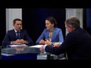 Наталья Починок и Денис Богатов в программе Высшая школа
