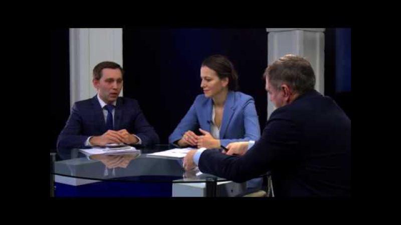 Наталья Починок и Денис Богатов в программе «Высшая школа»