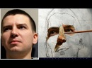 How to paint a male portrait in oils? Instructional video by MFA Sergey Gusev.