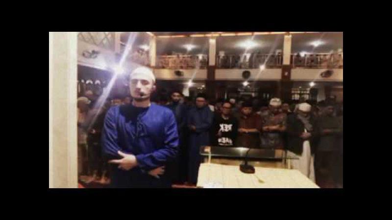 Fatih Seferagic Imam Shalat Maghrib Di Masjid Al Lathiif Bandung 17 11 2017