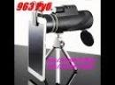 Maifeng, Монокуляр 40x60, Zoom, ручной телескоп, LLL ночное видение, 2018