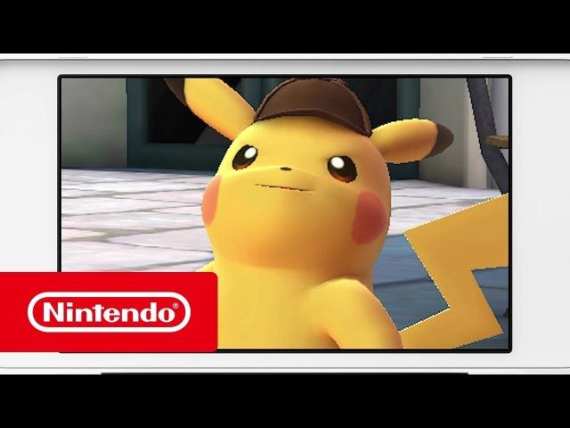 Detective Pikachu — Готовьтесь раскрыть дело! (Nintendo 3DS)