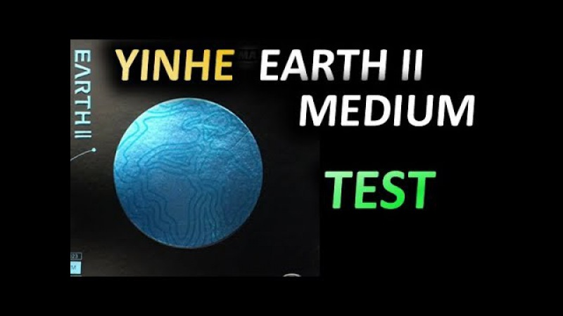 Topspin test YINHE Earth II Medium 2.0 mm on SPINLORD Ultra Carbon Def