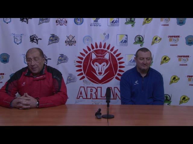 Пресс-Конференция Арлан-Кулагер ОЧРК г.Кокшетау (11.11.17)