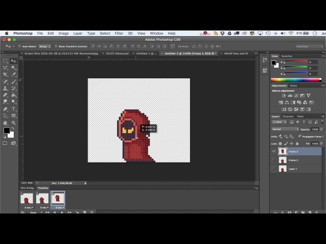How to Use the Timeline in Adobe Photoshop to Export PNGs or Animated Gifs