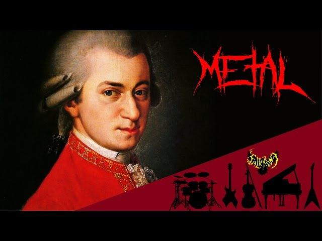 W. A. Mozart - Rondo Alla Turca / Turkish March 【Intense Symphonic Metal Cover】