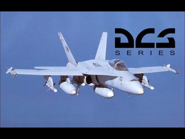 DCS World FA-18C Hornet - Часть 3 - Запуск, руление и взлет (Перевод ролика Мэтта Вагнера)