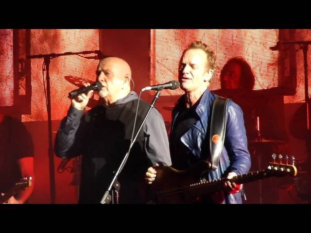Digging in the Dirt by Sting Peter Gabriel (Live @ Hollywood Bowl 7/18)