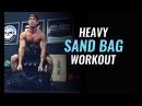 Brute Force Sandbag Jump Rope Workout
