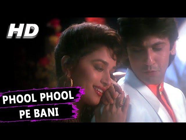 Phool Phool Pe Bani Hai Teri Tasveer | Kavita Krishnamurthy, Udit Narayan | Phool Songs | Madhuri