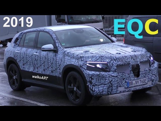 Mercedes Erlkönig Weltpremiere Mercedes EQ first time EQ C 2019 - 4K SPY VIDEO
