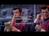 LazyTown - We are number one (Multilanguage)