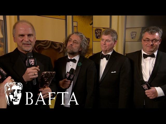 Blade Runner 2049   Backstage Interview   EE BAFTA Film Awards 2018
