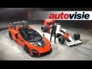 McLaren Senna drift door nieuwe fabriek Autovisie Vlog
