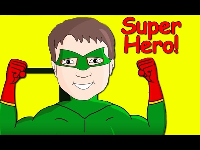 Superhero   Song for Children, Kids and Toddlers   Patty Shukla   DVD version
