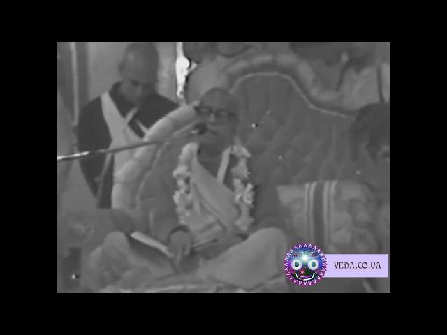 Шрила Прабхупада - Всегда думать о Кришне