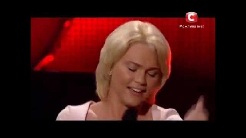 «Х-фактор-5» /Олеся Матакова - The Voice (Christina Aguilera). /Тренировочный лагерь (25.10.2014)