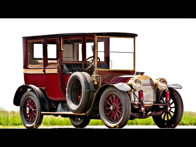 Mercedes 2250 PS Town Car by Brewster 1914