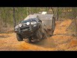 GALL BOYS - Testing the Hilux' chassis strength &amp standard suspension articulation - 4x4 offroad 4wd