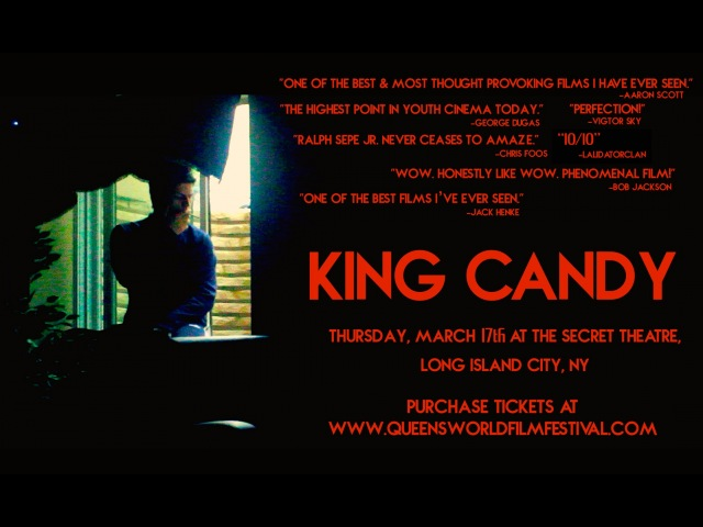 CUM SEE KING CANDY ON THE BIG SCREEN!