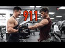 ARM Workout w/ Faze Censor Calling 911