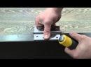 врезка петли при помощи стамески и молотка hinges inset with a chisel and hammer