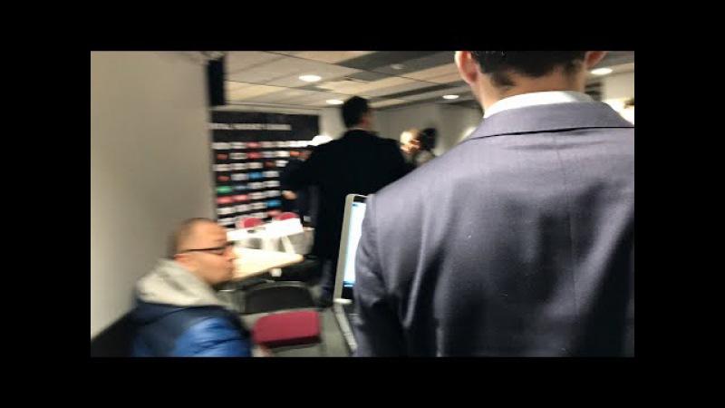 Preses konference. Dinamo Rīga - Ak Bars (10.01.2018.)
