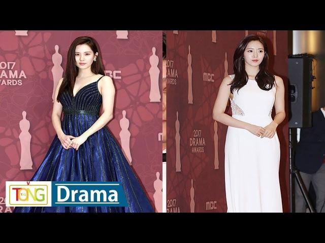 SNSD SEOHYUN(서현)·T-ARA Eun Jung(은정) 'MBC 연기대상' 포토타임 (도둑놈 도둑님, Girls' Generation, 별별 며느4