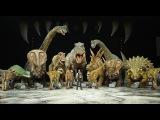 Walking with dinosaurs Helsinki 2012