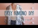 Easy Kimono DIY | 4 Steps