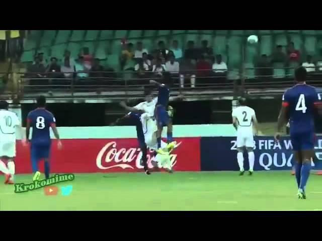 INDIA 1 - 2 TURKMENISTAN - Eliminatorias al Mundial de Rusia2018