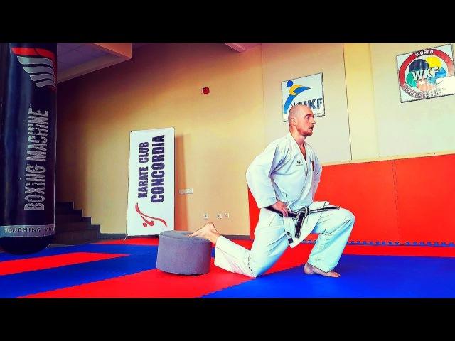 Комплекс развивающих упражнений для тренировки ног в каратэ. КARATE CLUB SKIF