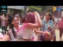 Surbhi Jyoti,Jay Bhanusali Mahi Vij BEST Holi Celebration 2018