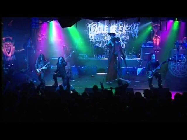 Cradle of Filth Cruelty Bought Thee Orchids LIVE