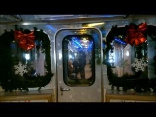 Новогодний Еж3 на станции Ховрино