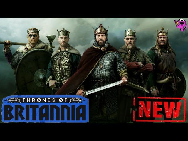 Thrones of Britannia Первые впечатления от ранней версии кампании