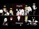 (MMD The Gray Garden) Angels Demons (Test Models DL)
