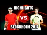 Juan Martin del Potro vs Jan-Lennard Struff STOCKHOLM 2017 Highlights
