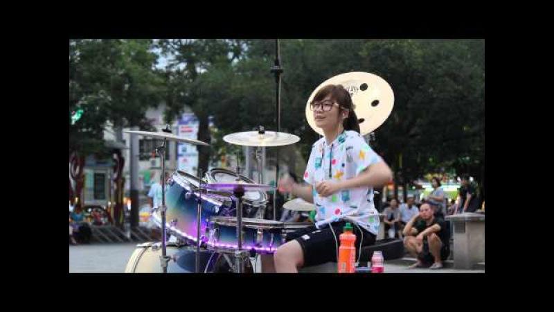 2014 04 27 爵士鼓 羅仕茹(羅小白) - 什麼態度