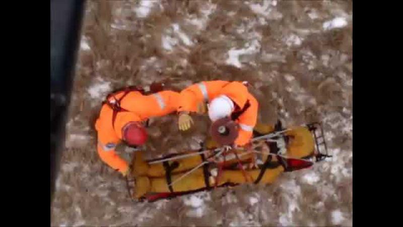 Тренировка спасателей ГКУ МАЦ
