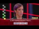 Caduta libera ,Gerry Scotti esulta per Alessandra che vince il montepremi