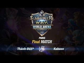SWC Paris - Финал: Thánh Đỏ5 vs Kabzon