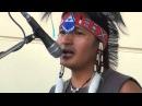 Индейцы на Савёловском вокзале в Москве 9 07 2012